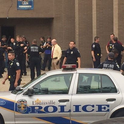 Metro police respond to possible shooting at JCTC.