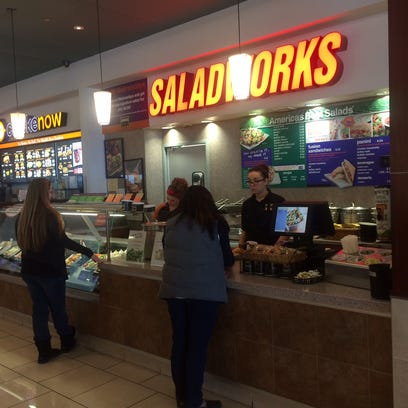 This is the current location for Saladworks in the