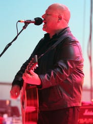 Black Francis of the Pixies, on stage at the Stone