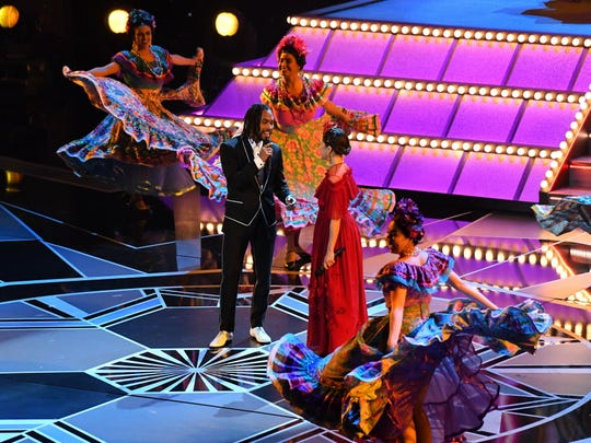 Miguel and Natalia Lafourcade duet on original song