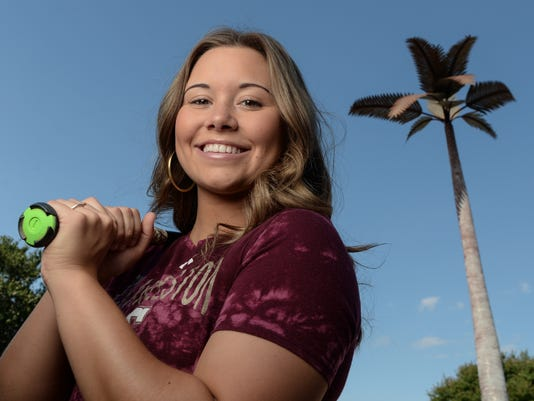 Savannah Huff All Area Player of the Year softball