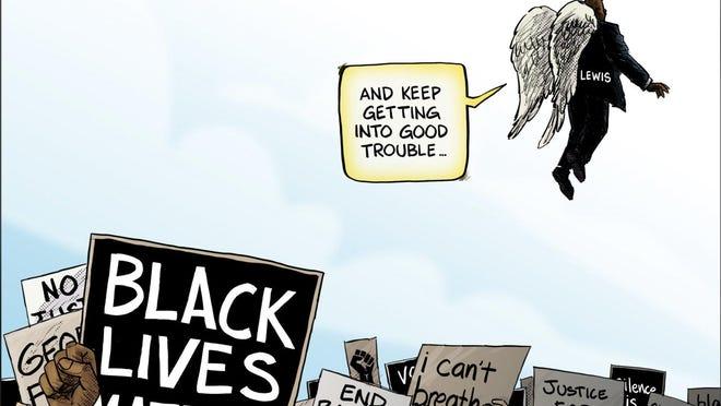 Cartoon by Kevin Necessary