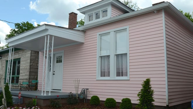 """Cassius Marcellus Clay Jr., later renamed Muhammad Ali; and his younger brother Rudolph """"Rudy"""" Clay, later renamed Rahman Ali, grew up in this home on 3302 Grand Avenue. The newly renovated museum was dedicated Sunday afternoon. May 1, 2016."""