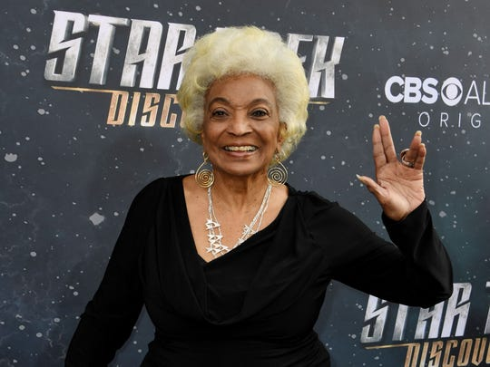 "Nichelle Nichols, Lt. Uhura on the original ""Star Trek,"" is one of the scheduled celebrity guests at the Wisconsin Comic Convention, Friday through Sunday at the Wisconsin Center."