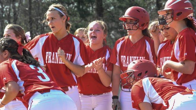 The Franklin softball team.