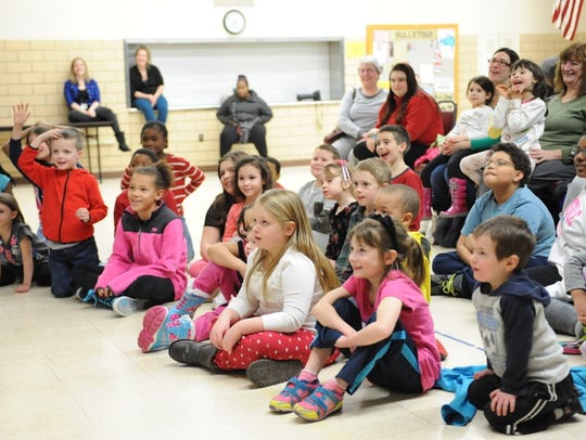 The Redford Family Fun Night brings out many kids at