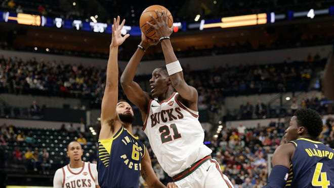 The Bucks' Tony Snell has struggled since the beginning of February.