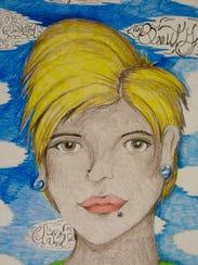 Portrait of former Renaissance Academy student Jenelda