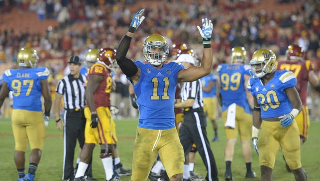 Linebacker Anthony Barr, who will lead UCLA against Virginia Tech on the Sun Bowl on Dec. 31, could be the top defensive player taken in next spring's NFL draft.