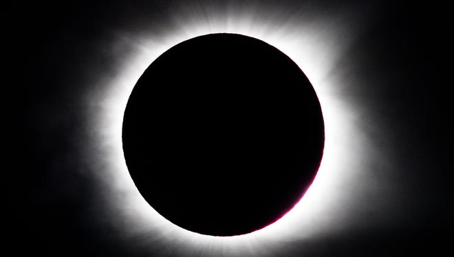 Monday's solar eclipse had plenty of Nashvillians and visitors oohing and aahing.