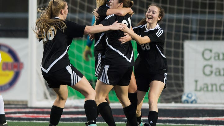 Germantown edges Long Beach 2-1 in double overtime for 5A Girls State Title