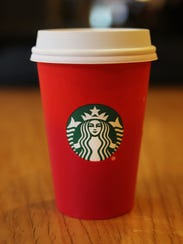 A holiday Starbucks cup came under criticism by some