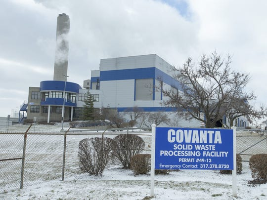 Covanta Solid Waste Processing Facility, 2320 S. Harding St., Indianapolis, Wednesday, Feb. 10, 2016.