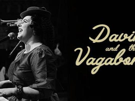 Davina and the Vagabonds will perform in concert on
