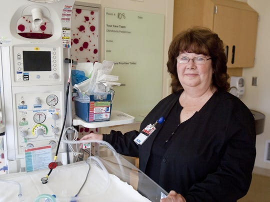 Cayuga Medical Center nurse Terri MacCheyne has helped deliver thousands of babies in the Tompkins County area.