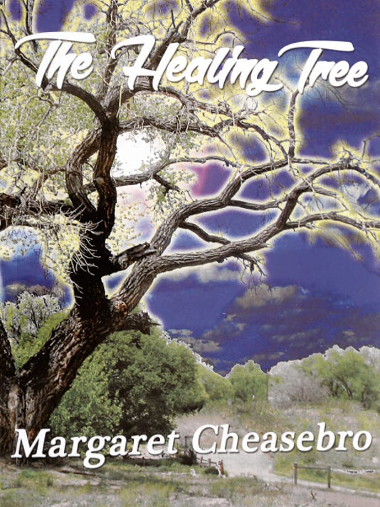 Author Margaret Cheasebro will sign copies of her new book 'The Healing Tree' this weekend at the Feat of Clay Co-op Gallery.
