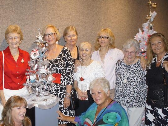 Shell Club members include Susan Brown, left bottom, Joan Robbins, Becky Milller, Marsha Prunelli, Shirley Prishko, Christine Hewitt, Emily Savage, Kimberly Porter, Jae Kellogg.