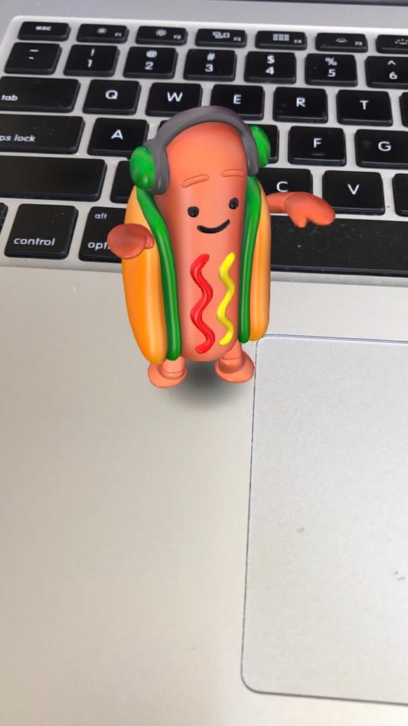 The Snapchat Hotdog Meme Explained