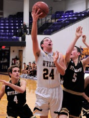 Wylie's Duncan Bacon (24) is one of four seniors on the roster this season. The Bulldogs are working to replace a large senior class from a year ago and are building chemistry with this year's team.