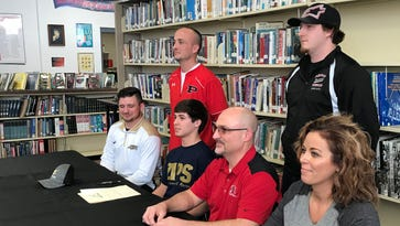 Pleasant wrestler Carter Wolf will continue with sport at Akron
