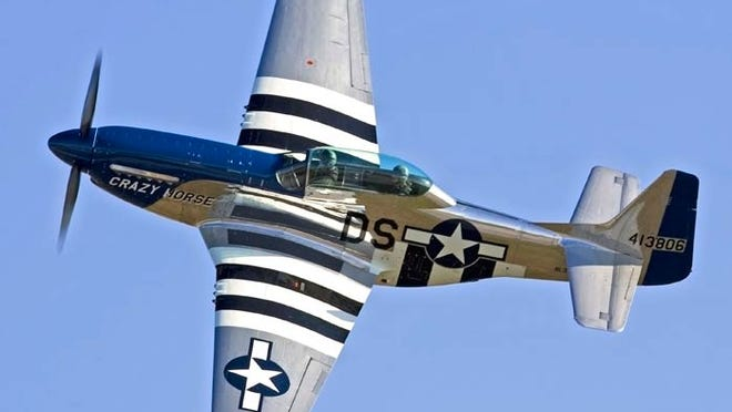 The P-51 Mustang will be featured during the Ocean City Air Show on June 13-14.