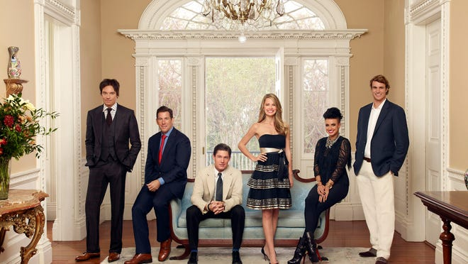 """""""Southern Charm"""" cast member Thomas Ravenel, second from left, was arrested Tuesday on charges he assaulted a former nanny in 2015."""