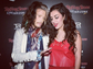 Charlie XCX enjoys  a moment with Steven Tyler at the