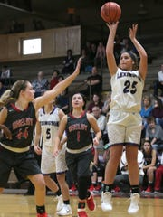 Lexington's Gabby Stover posted a near triple-double on Wednesday night in a victory over Centerburg.