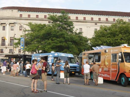 Jazz Festival Food trucks