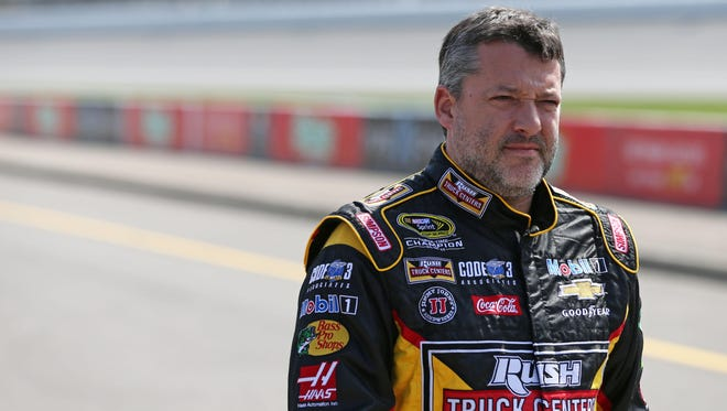 Tony Stewart still is looking for his first Southern 500 win after 17 tries.