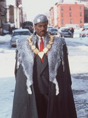 "Eddie Murphy stars in ""Coming to America."""