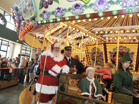 PJ Party with Santa:Enjoy snacks, keepsake crafts, unlimited carousel ridesand visit and photo with Santa, 6 to 8 p.m. Tuesday and Wednesday, Dec. 19-20, Salem's Riverfront Carousel, 101 Front St. NE, Salem. $20 per person, reserve spots in person or by phone at least five days before the event, (503) 540-0374.