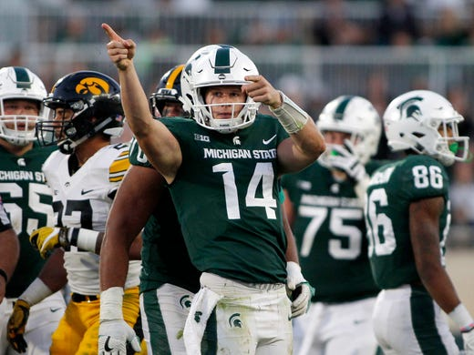 michigan state football will go as far as seniors lead them