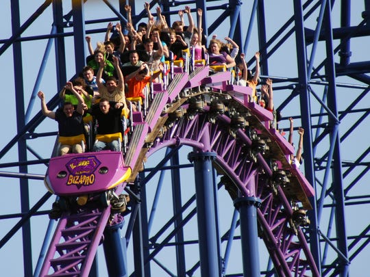 Bizarro at Six Flags New England won the title of Best