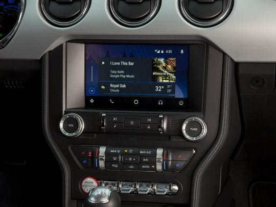 The technologies allow drivers to use their phones for navigation, music, calls and other features. When connected, a car's dashboard screen mimics an iPhone or Android phone screen.