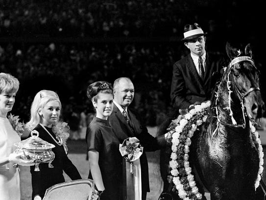The new Grand Champion Walking Horse of the World,