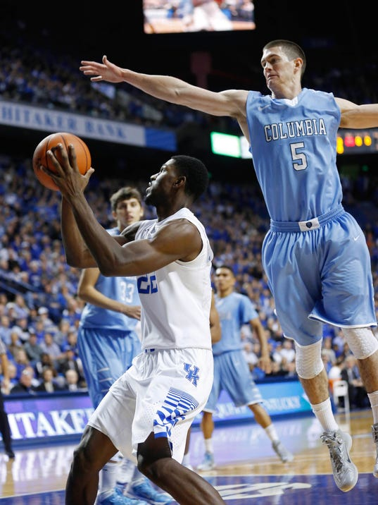 NCAA Basketball: Columbia at Kentucky