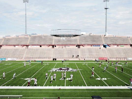 Aggie Memorial Stadium skybox