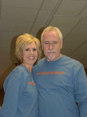 Sherri Duncan and Michael Johnson helped plan a fundraiser for their friend diagnosed with cancer.