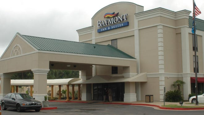 The Baymont Inn and Suites and Convention Center on North MacArthur Drive will be auctioned in bankruptcy proceedings this month.