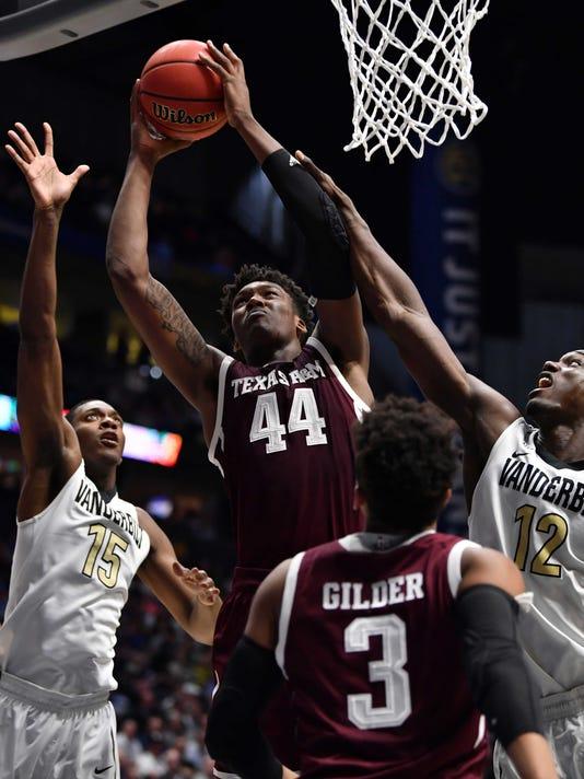 NCAA Basketball: SEC Tournament-Vanderbilt vs Texas A&M
