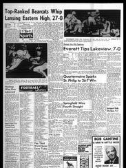 Battle Creek Sports History: Week of Oct. 6, 1966