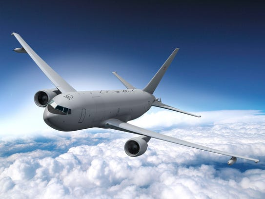 The KC-46A is intended to replace the Air Force's aging