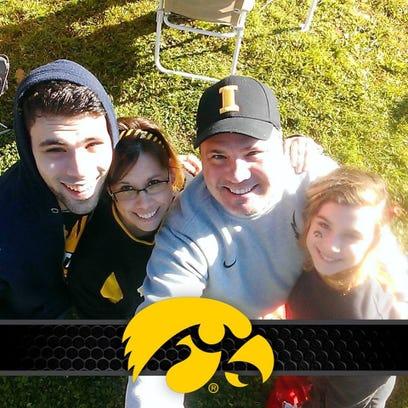 The Oberhart family; Riley, Kathleen, Daniel and Macy.