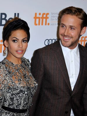 Eva Mendes and Ryan Gosling back in 2012 with 'A Place Beyond the Pines.'