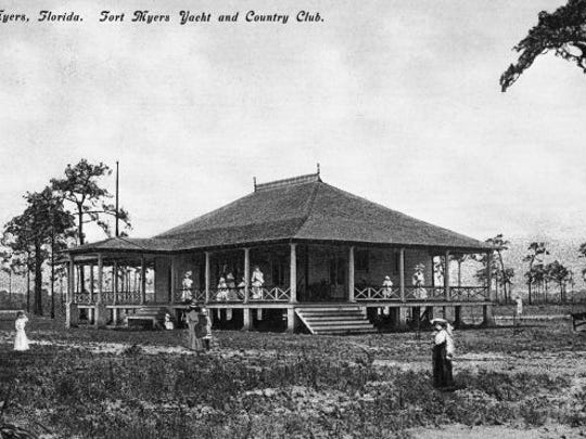 Fort Myers Yacht and Country Club, early 1900s.