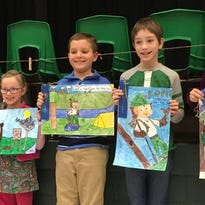 Williamston's young poster artists honored by garden club