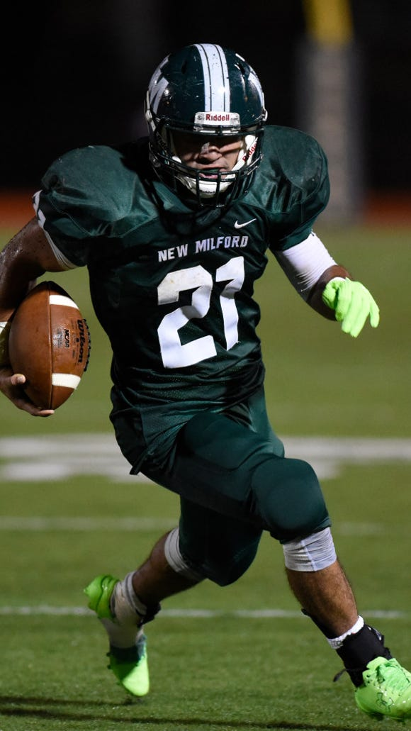 New Milford's Christian Correa announced on Thursday, Jan. 26, 2017 that he verbally committed to Wagner College.