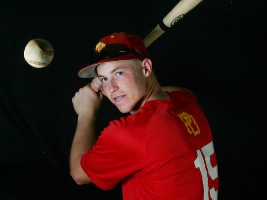 FILE - Brian Serven, baseball at Palm Desert for the