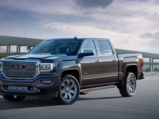 GMC will unveil a Sierra Denali Ultimate package of its premium fullsize pickup truck today at the Los Angeles Auto Show.